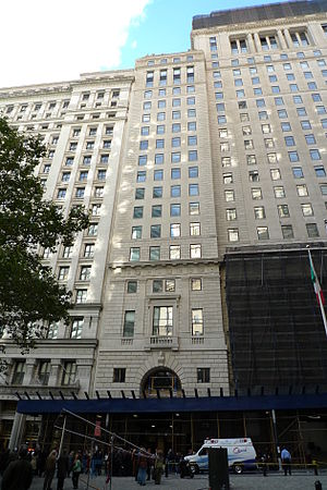 Cunard Building (New York City) - Image: 25 Broadway Cunard Building WTM3 PAT M IN NYC 0076