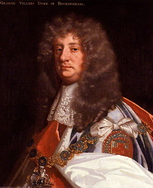 George Villiers, 2nd Duke of Buckingham - Image: 2nd Duke Of Buckingham