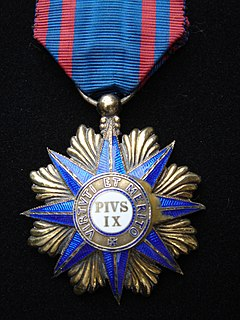 Order of Pope Pius IX