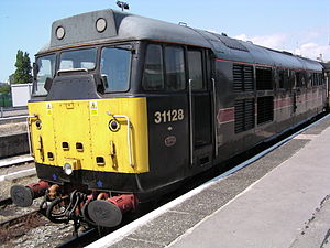 FM Rail - 31128 Charybdis at Bristol Temple Meads in July 2004