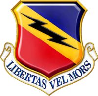 388th Fighter Wing (US Air Force) insignia 2016.png