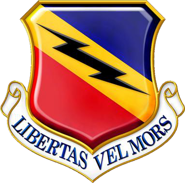 388th Fighter Wing (US Air Force) insignia 2016