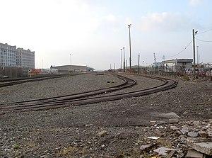 South Brooklyn Railway - Second Avenue interchange yard
