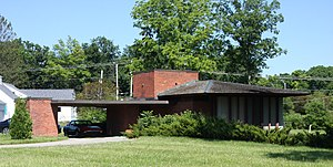 John D. Haynes House - The house in 2016