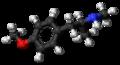 4-Methoxymethamphetamine molecule ball.png