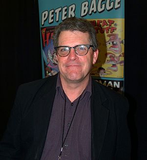 Peter Bagge - Bagge at a comics convention in April 2016