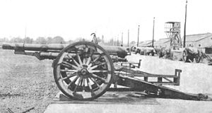 4.7 inch Gun M1906 - Image: 4.7inch Gun US Model 1906Battery Position