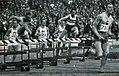 400 mètres haies des championnats d'Europe 1938, Joye devant Kovacs et Areskoug.jpg