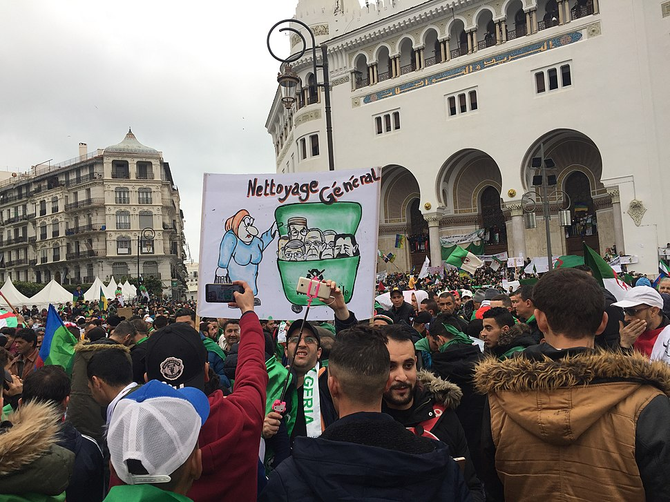 5ème vendredi de manifestations à Alger
