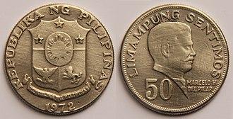 Céntimo - 50 Philippines Sentimos.