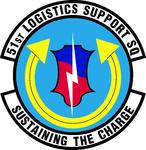 51 Logistics Support Sq (later 51 Maintenance Operations Sq) emblem.png