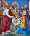 6 Weronika ociera twarz Jezusowi, kolegiata, Lidzbark Warmiński.jpg