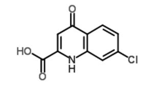 7-Chlorokynurenic acid - Image: 7 Chlorokynurenate