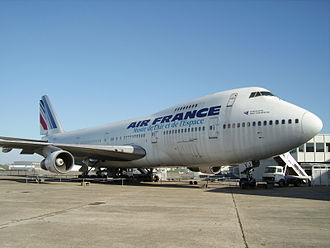 Boeing 747-128 on display at the Musee de l'Air et de l'Espace in France 747.JPG