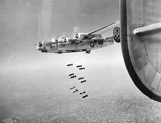 459th Operations Group - B-24L-10-FO Liberator 44-49750, 756th Bombardment Squadron, Bombing near Padua, Italy, 1945