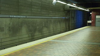 7th Street/Metro Center station - Image: 7th Street Metro Station