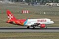 9H-AEH 2 A319-111 Air Malta TLS 26SEP13 (9957445064).jpg
