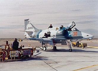 VF-126 - VF-126 A-4M at NAS Miramar c.1991