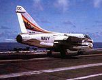 A-7E of VA-94 aboard USS Coral Sea (CV-43) 1977.jpg