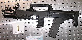 A-91 Russian bullpup assault rifle