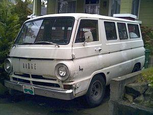 Compact van - Dodge A100