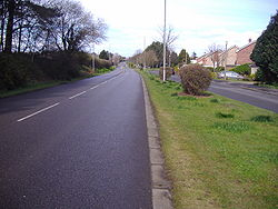 A1082 road in Sheringham 6th April 2008 (1).JPG