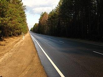 A6 road (Latvia) - Image: A6, Daugavpils bypass