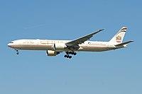 A6-ETN - B77W - Etihad Airways