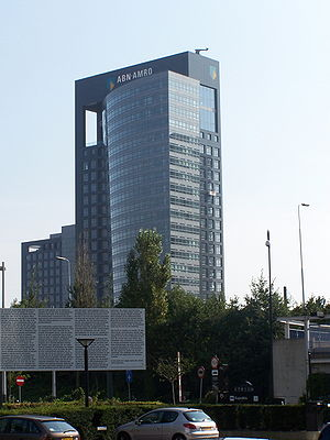 ABN AMRO - ABN AMRO headquarters in Amsterdam.