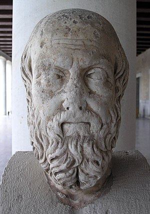 Bust of Herodotus. 2nd century AD. Roman copy ...