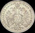 AHG aust 10 kreuzer 1869 reverse.jpg