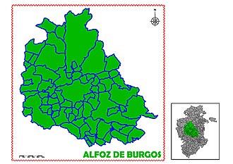 Alfoz de Burgos - Image: ALFOZ DE BURGOS