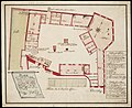 AMH-7718-NA Floor plan of the 'kattenplaats' courtyard in Fort St. George at Elmina.jpg