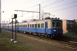 SNCB Class AM35 Electric multiple unit trains