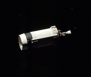 J002E3 - S-IVB stage of Apollo 17. The one used for Apollo 12 is of identical type.