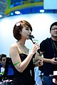ASRock promotional model at Computex 20130607d.jpg