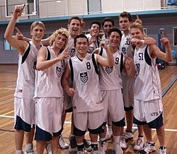The gold medal winning 2007 men's basketball team