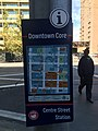 A Downtown Core Section Map at the Centre Street Station.jpg