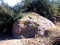 A Moss Covered Boulder in the Queen Creek Wash Near Queen Valley - panoramio.jpg
