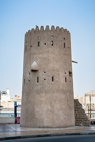 Dubai - A watchtower in Bur Dubai, c. 19th century