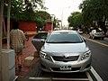 A Toyota Corolla Altis on street in Tainan.jpg