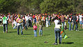 A celebration of Holi festival at Stanford University United States, 2009.jpg