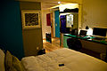 A distinctive hotel room, Edinburgh, Scotland, 24 Sept. 2011 - Flickr - PhillipC.jpg