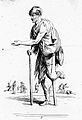A man with a wooden leg begging for alms Wellcome L0019531.jpg