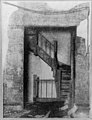 A newspaper photograph of an internal staircase in the Asch Building after the Triangle fire (5279144863).jpg