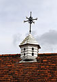 A pigeoncote on a cottage at Matching Tye, Essex, England.jpg