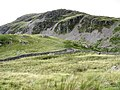 A sheepfold set against the background of Craig-y-benglog - geograph.org.uk - 546463.jpg