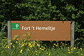 Aangekomen bij het Fort 't Hemeltje in Houten aan de Fortweg.jpg