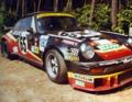 Abandon, pneu éclaté, pour la Porsche No 65 aux 24h du Mans 1978.tif
