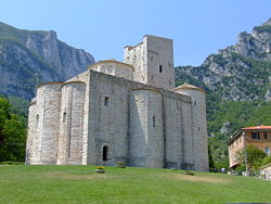 San Vittore Abbey.